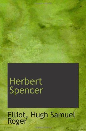 9781113200112: Herbert Spencer