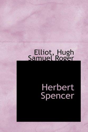 9781113200143: Herbert Spencer