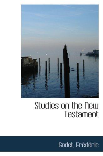 9781113218391: Studies on the New Testament