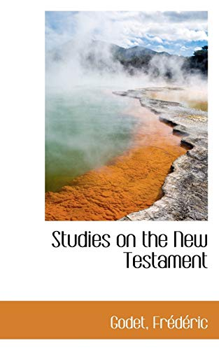 9781113218421: Studies on the New Testament