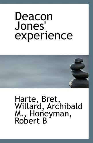 9781113262509: Deacon Jones' experience