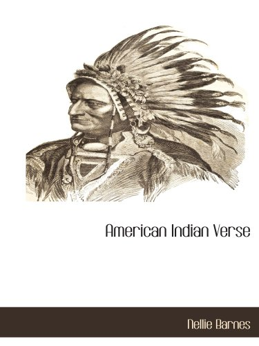 9781113319463: American Indian Verse