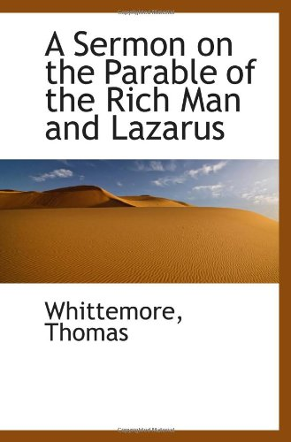 9781113327192: A Sermon on the Parable of the Rich Man and Lazarus