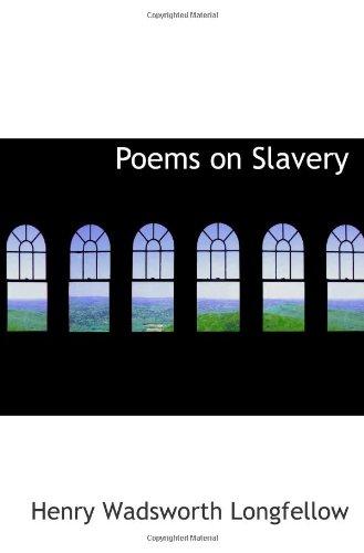 9781113391421: Poems on Slavery