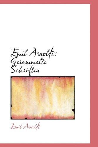 9781113401250: Emil Arnoldt: Gesammelte Schriften
