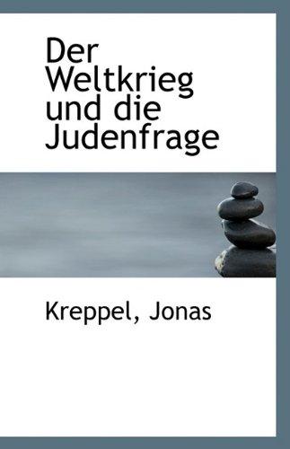 9781113404954: Der Weltkrieg Und Die Judenfrage