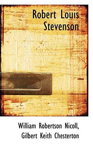 9781113408457: Robert Louis Stevenson