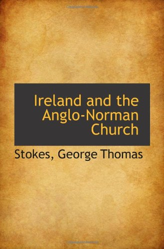 9781113433152: Ireland and the Anglo-Norman Church