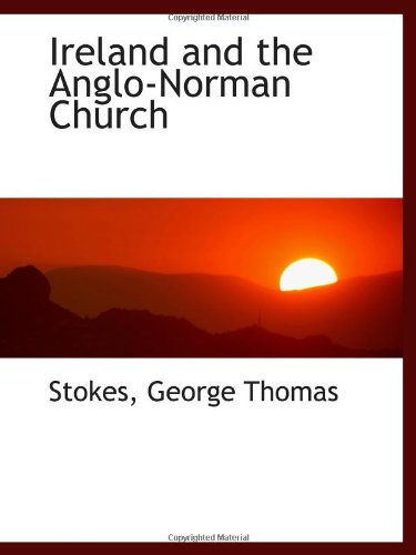 9781113433169: Ireland and the Anglo-Norman Church