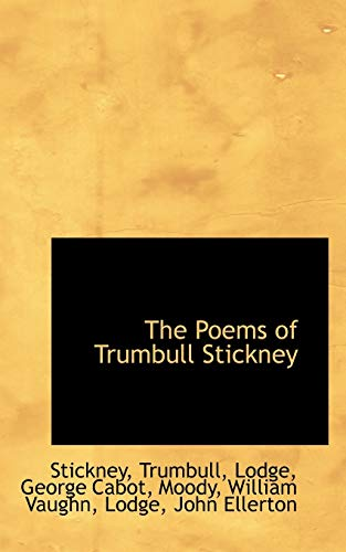 9781113486899: The Poems of Trumbull Stickney