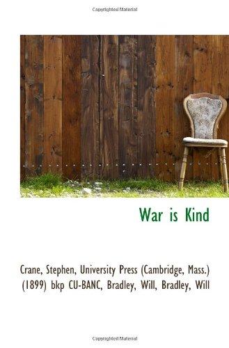9781113495273: War is Kind
