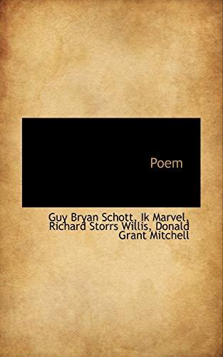 9781113502209: Poem
