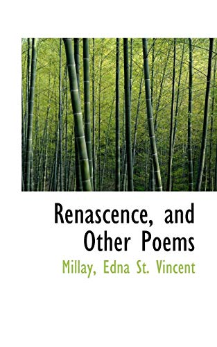 9781113524058: Renascence, and Other Poems