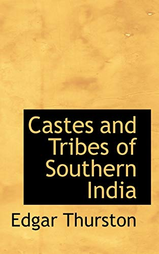 9781113560308: Castes and Tribes of Southern India