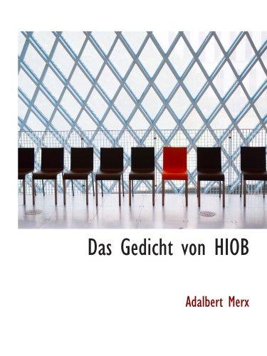 9781113592613: Das Gedicht von HIOB