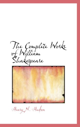 9781113664051: The Complete Works of William Shakespeare