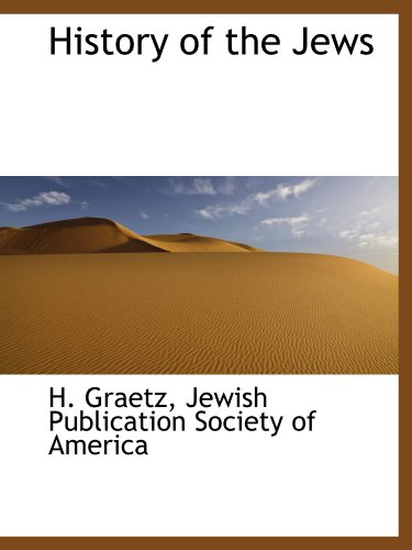 9781113673671: History of the Jews