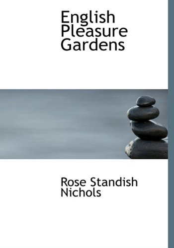 9781113704801: English Pleasure Gardens