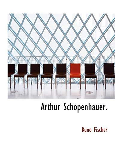 9781113737656: Arthur Schopenhauer.