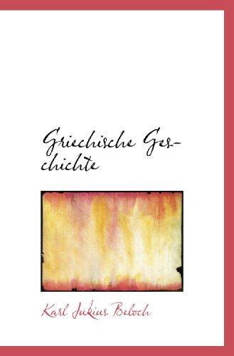 9781113745491: Griechische Geschichte