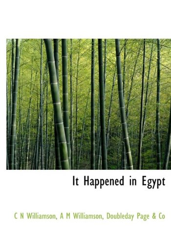 9781113779793: It Happened in Egypt
