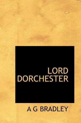 9781113809315: LORD DORCHESTER