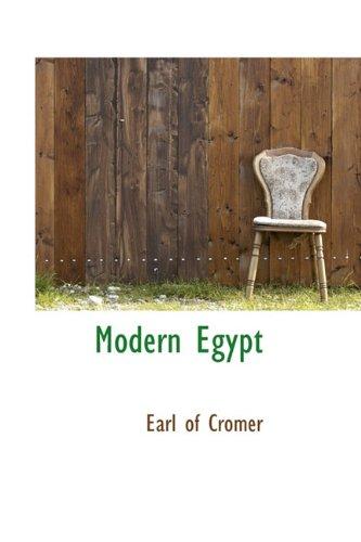 9781113831217: Modern Egypt