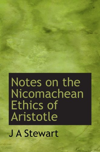 9781113848826: Notes on the Nicomachean Ethics of Aristotle (English and Greek Edition)