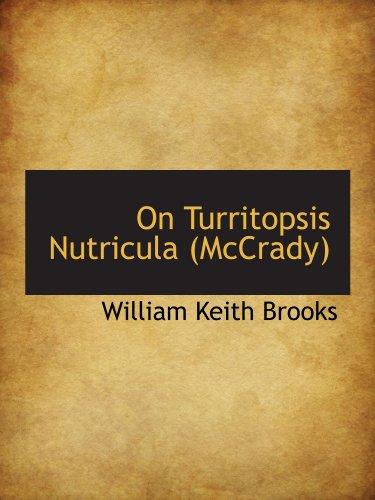 9781113857293: On Turritopsis Nutricula (McCrady)