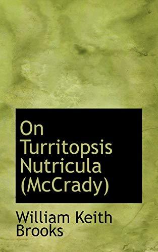 9781113857316: On Turritopsis Nutricula (McCrady)