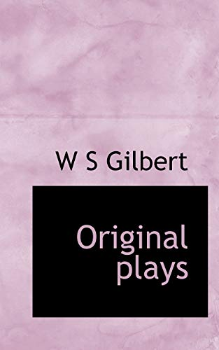 9781113858986: Original Plays