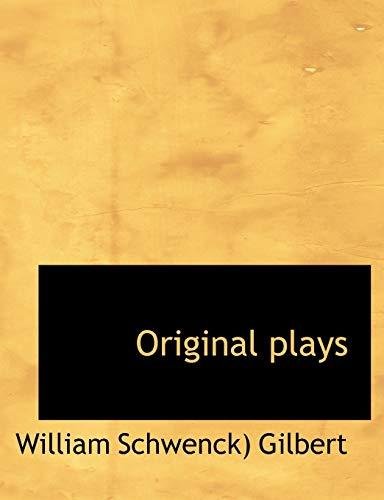 9781113859075: Original plays