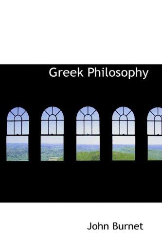 9781113862136: Greek Philosophy
