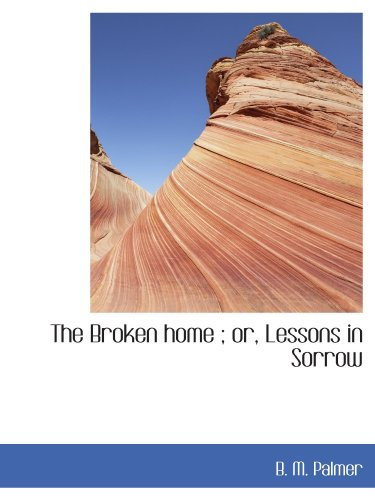 9781113963659: The Broken home ; or, Lessons in Sorrow