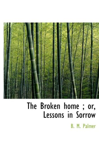 9781113963734: The Broken home ; or, Lessons in Sorrow