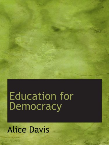 9781113994288: Education for Democracy