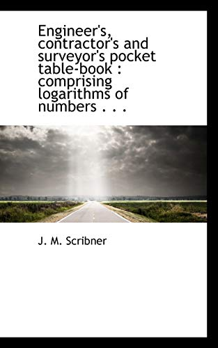 9781113996190: Engineer's, contractor's and surveyor's pocket table-book