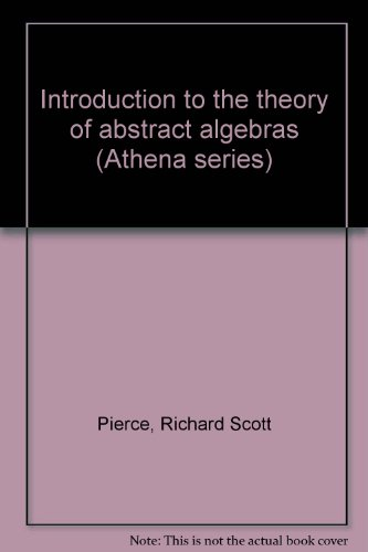 9781114121225: Introduction to the Theory of Abstract Algebras