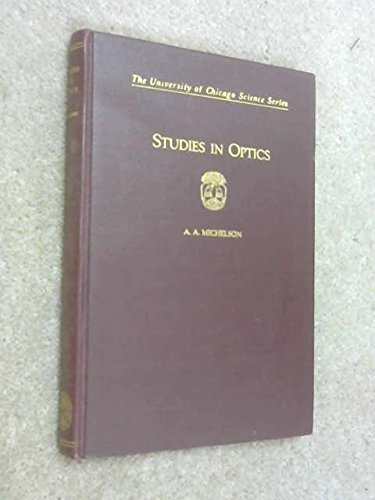 9781114127883: Studies in Optics
