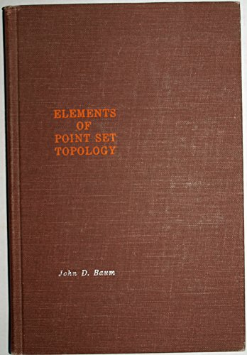 9781114139138: Elements of point set topology