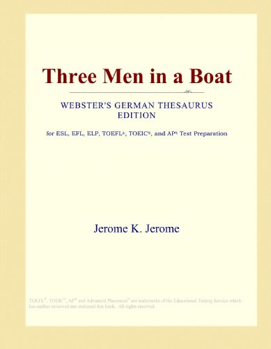 9781114154841: Three Men in a Boat (Webster's German Thesaurus Edition)