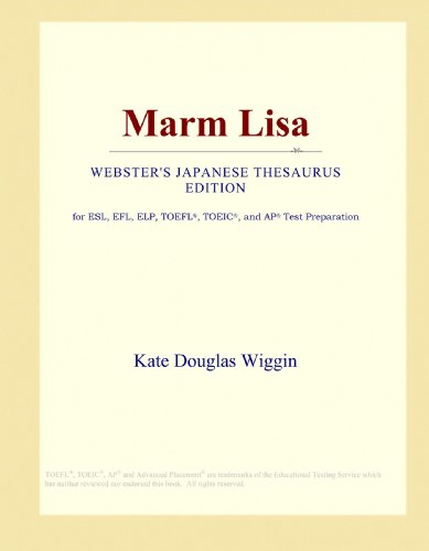 9781114156395: Marm Lisa (Webster's Japanese Thesaurus Edition)