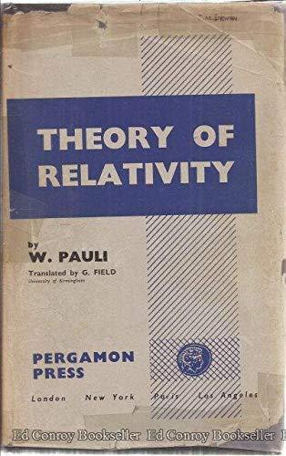 9781114172388: Theory of relativity.