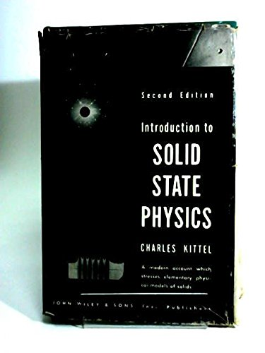 9781114173569: Introduction To Solid State Physics 2ND Edition