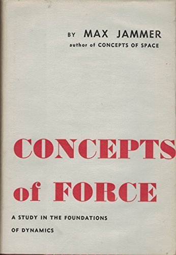 9781114181380: Concepts of Force A Study in the Foundations of Dynamics