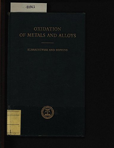 9781114186170: Oxidation of Metals and Alloys