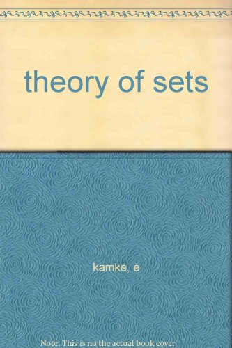9781114209930: theory of sets