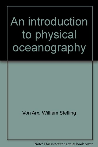 9781114247185: An Introduction To Physical Oceanography.