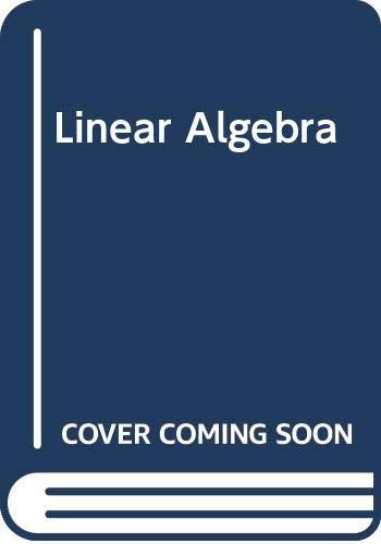 9781114247369: Linear Algebra