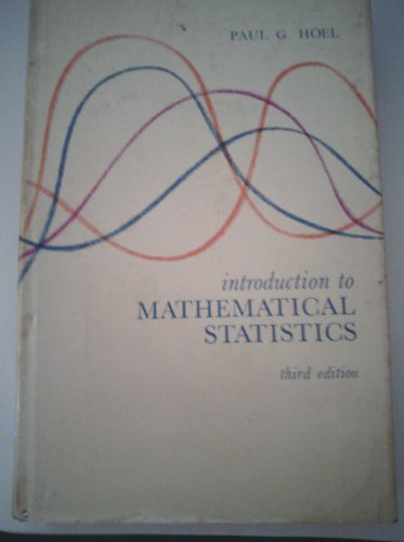 9781114247802: Introduction to mathematical statistics